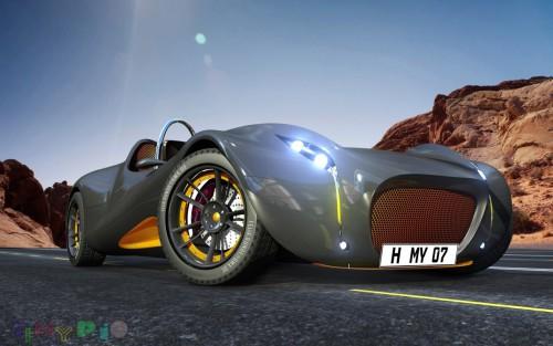 morey concept car wallpaper 3d