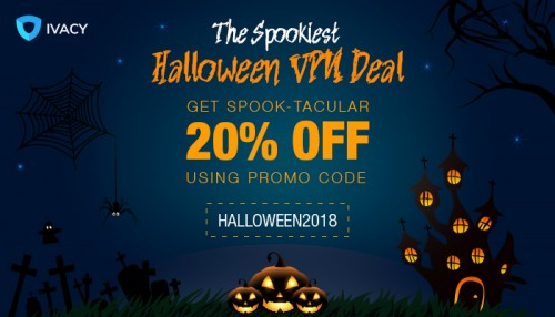 Get the best Halloween discount with ivacy vpn.https://www.ivacy.com/blog/halloween-sale-and-clearance/