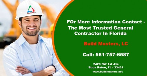 Looking for the most reliable general contractor in Boca Raton, FL? Contact us today for a FREE consultation and quote at 561-757-6587, 954-333-8512.