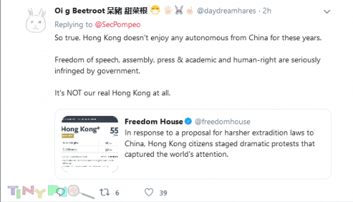 Hybrid War Screenshot 2020 05 27 Secretary Pompeo on Twitter Today, I reported to Congress that Hong